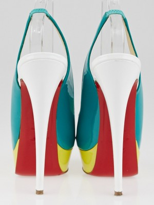knock of shoes - christian louboutin lady peep sling 150 pumps, price of christian ...