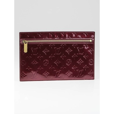 Louis Vuitton Rouge Fauviste Monogram Vernis Perishing GM Pouch