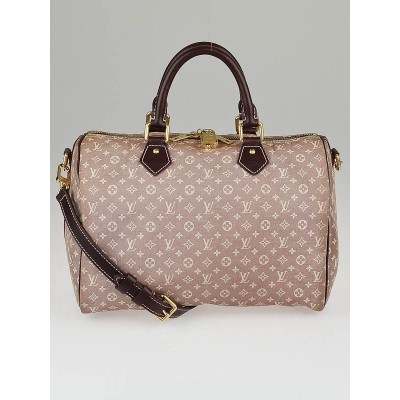Louis Vuitton Sepia Monogram Idylle Canvas Speedy Bandouliere 30 Bag