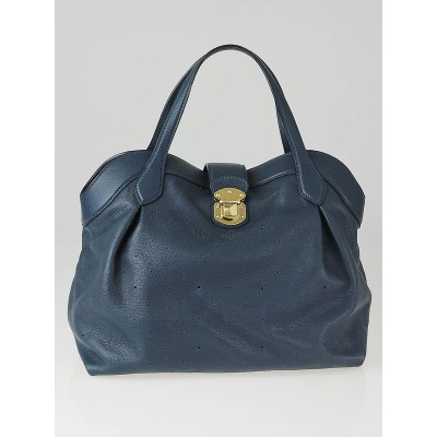 Louis Vuitton Marine Mahina Leather Cirrus MM Bag