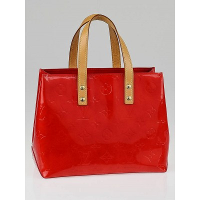 Louis Vuitton Red Monogram Vernis Reade PM Bag