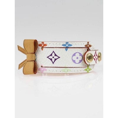 Louis Vuitton White Monogram Multicolore Address Bracelet