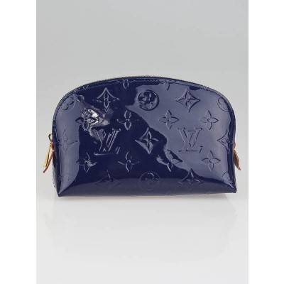 Louis Vuitton Grand Bleu Monogram Vernis Cosmetic Pouch