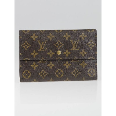 Louis Vuitton Monogram Canvas Passport Organizer Wallet