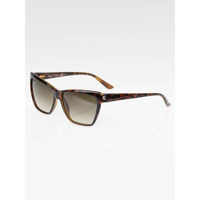 Gucci Brown Tortoise Shell Gradient Tint Sunglasses-3195/S