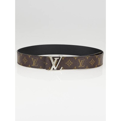 Louis Vuitton Monogram Canvas LV Initiales Belt Reversible Size 95/38