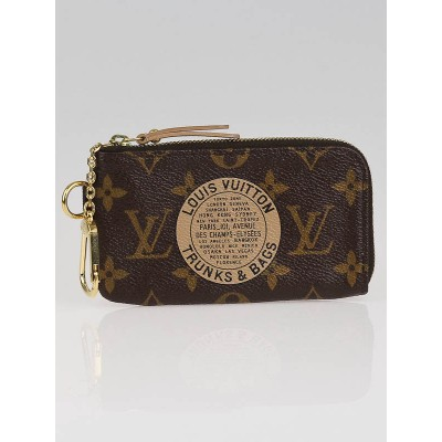 Louis Vuitton Limited Edition Monogram Canvas Complice Trunks & Bags Cles Key and Change Holder