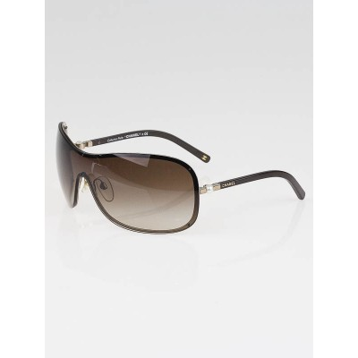 Chanel Metal Wrap Frame Pearl Sunglasses-4170