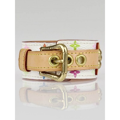 Louis Vuitton White Monogram Multicolore Theda Bracelet