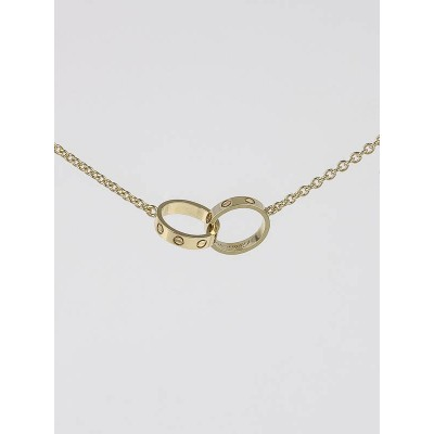 Cartier 18k Gold LOVE Pendant Necklace