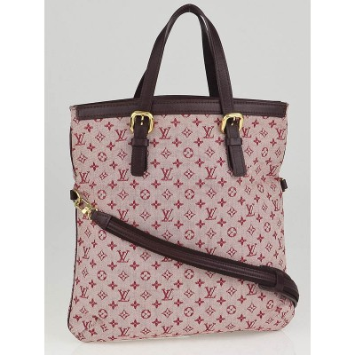 Louis Vuitton Cherry Monogram Mini Lin Francoise Shoulder Bag