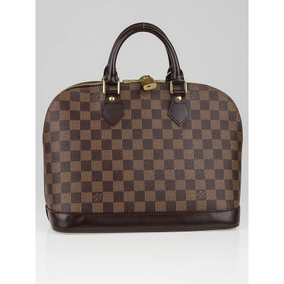 Louis Vuitton Damier Canvas Alma Bag