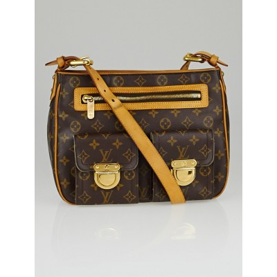Louis Vuitton Monogram Canvas Hudson GM Bag