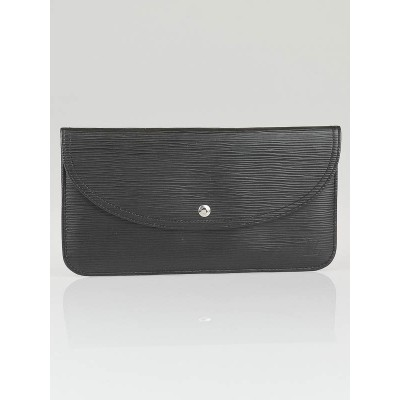 Louis Vuitton Black Epi Leather Pochette Voyage