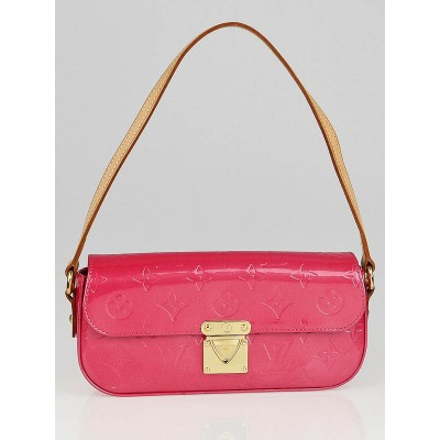 Louis Vuitton Framboise Monogram Vernis Malibu Street Clutch Bag