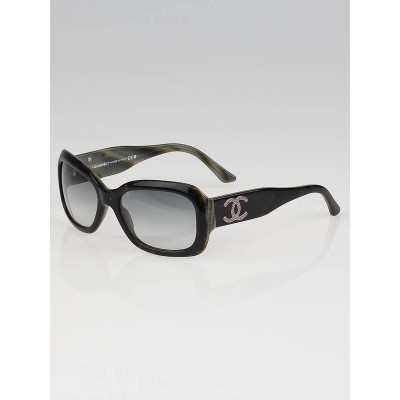 Chanel Black/Grey Frame CC Logo Sunglasses-5102