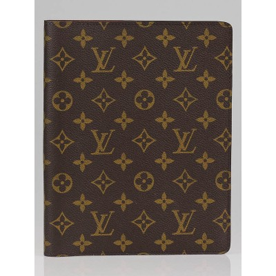 Louis Vuitton Monogram Canvas Desk Agenda Cover