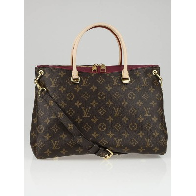 Louis Vuitton Aurore Monogram Canvas Pallas Bag