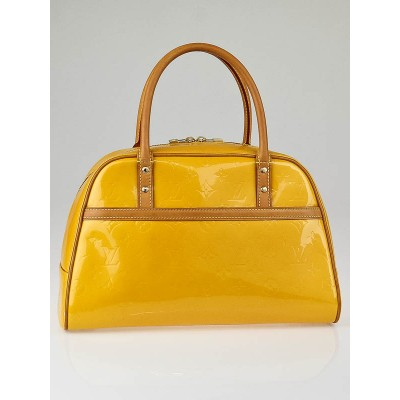 Louis Vuitton Mango Yellow Monogram Vernis Tompkins Square Bag