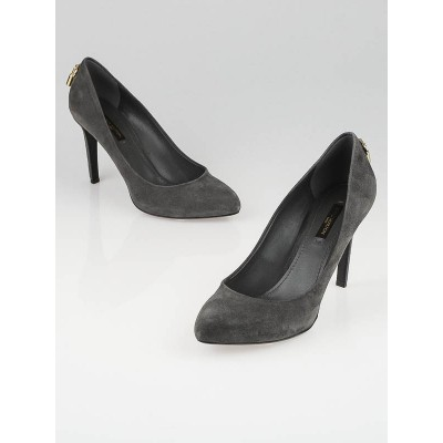 Louis Vuitton Grey Suede Oh Really! Pumps Size 6.5/37