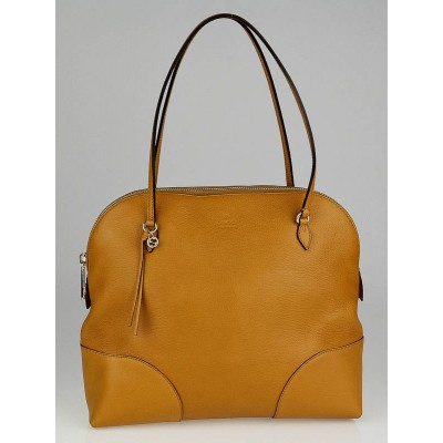 Gucci Yellow Leather Bree Bag