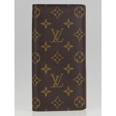 Louis Vuitton Monogram Canvas Brazza Wallet
