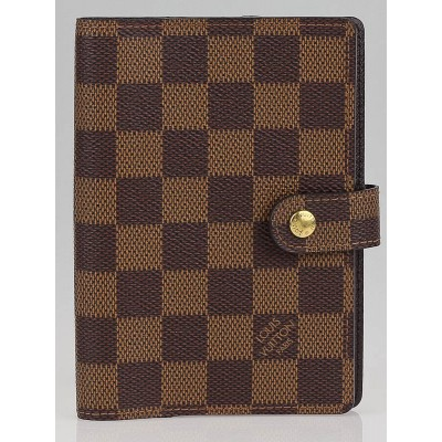 Louis Vuitton Damier Canvas Small Ring Agenda