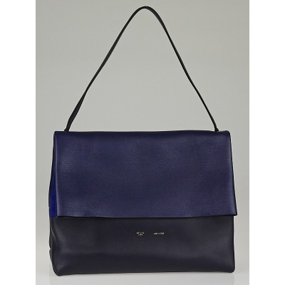 Celine Ink Baby Calfskin Leather All Soft Shoulder Bag