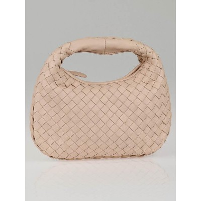Bottega Veneta Lotus Intrecciato Woven Nappa Leather Mini Veneta Bag