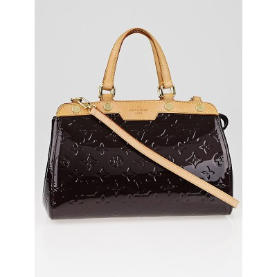 Louis Vuitton Amarante Monogram Vernis Brea PM Bag