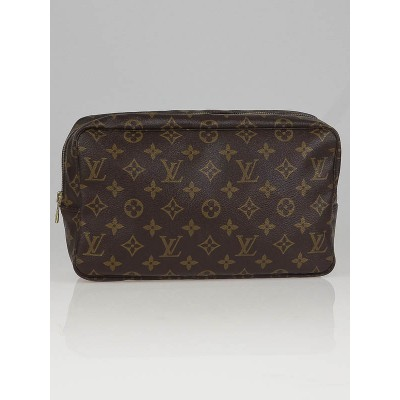 Louis Vuitton Monogram Canvas Trousse Toilette 28 Cosmetic Pouch