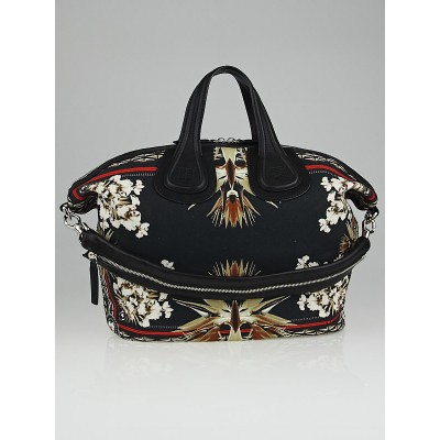 Givenchy Paradise Flower Cotton Medium Nightingale Bag