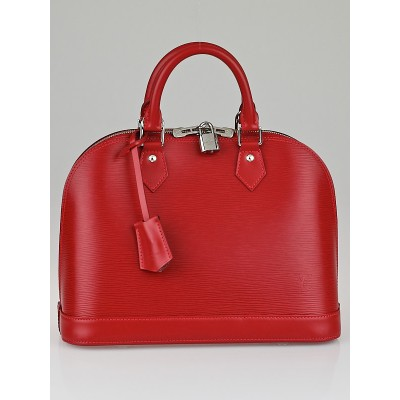 Louis Vuitton Carmin Epi Leather Alma PM Bag