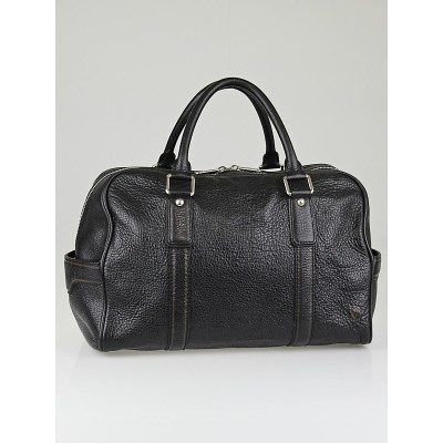 Louis Vuitton Black Tobago Leather Carryall Bag