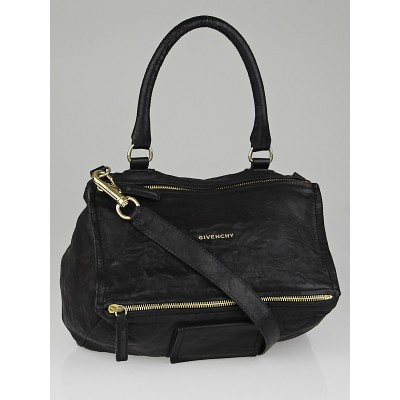 Givenchy Black Sheep Leather Medium Pandora Bag