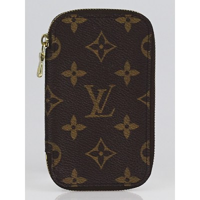 Louis Vuitton Monogram Canvas Zip Around Multicles 6 Key Holder