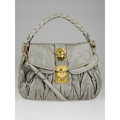 Miu Miu Nube Matelasse Lux Leather Coffer Bag