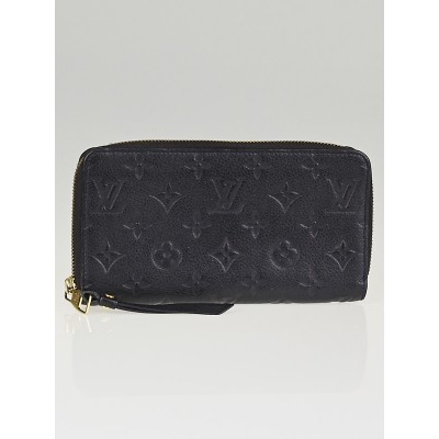 Louis Vuitton Infini Monogram Empreinte Leather Secret Long Wallet