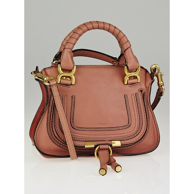 Chloe Waterlily Leather Mini Marcie Bag