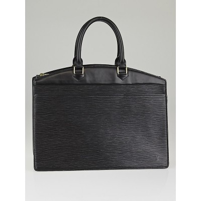 Louis Vuitton Black Epi Leather Riviera Bag