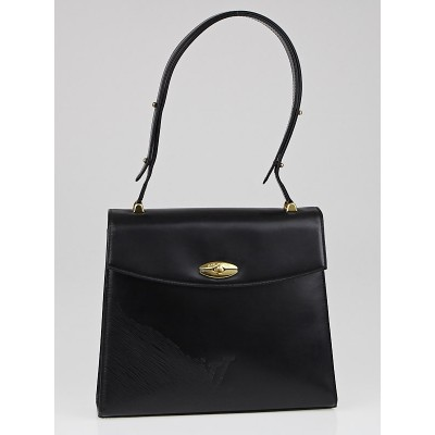 Louis Vuitton Black Opera Leather Athenes Bag