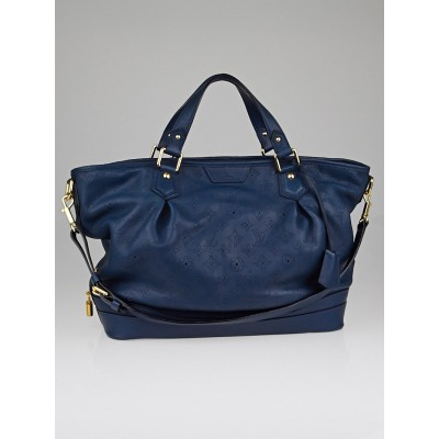 Louis Vuitton Marine Mahina Leather Stellar GM Bag