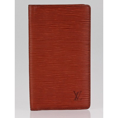 Louis Vuitton Kenyan Fawn Epi Leather Checkbook Wallet