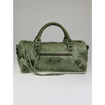 Balenciaga Dolma Chevre Leather Twiggy Bag
