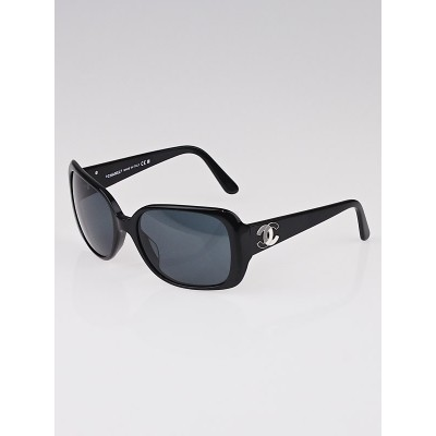 Chanel Black Frame Square Frame CC Sunglasses-5101