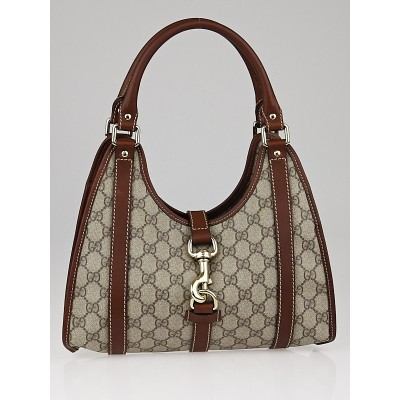 Gucci Beige/Brown GG Coated Canvas Joy Small Shoulder Bag