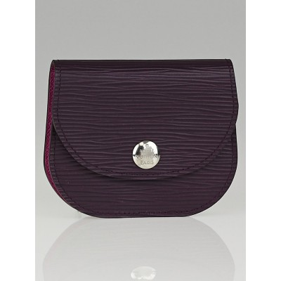 Louis Vuitton Cassis Epi Leather Accordion Coin Purse