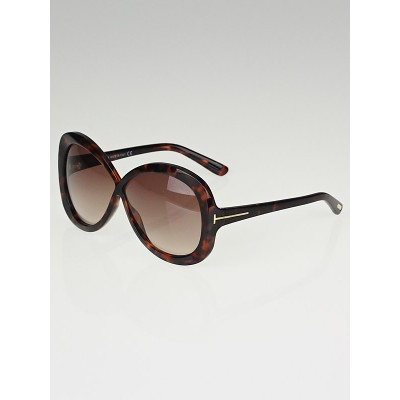Tom Ford Tortoise Shell Frame Margot Sunglasses-TF226