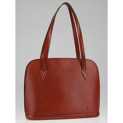 Louis Vuitton Kenyan Fawn Epi Leather Lussac Tote Bag