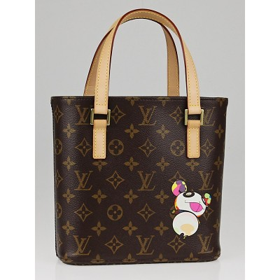 Louis Vuitton Limited Edition Monogram Canvas Murakami Panda Vavin PM Bag